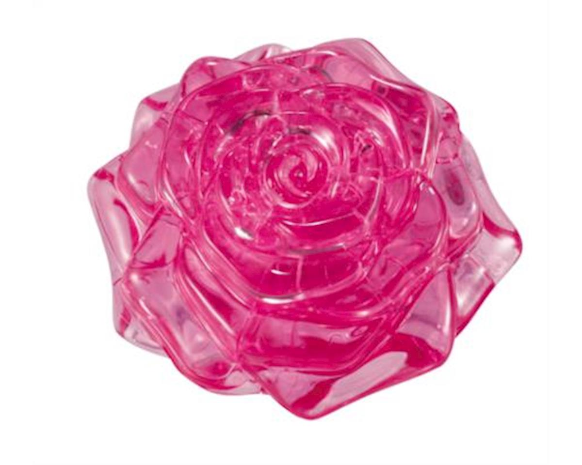3D Crystal Puzzle Pink Rose by University Games Corp