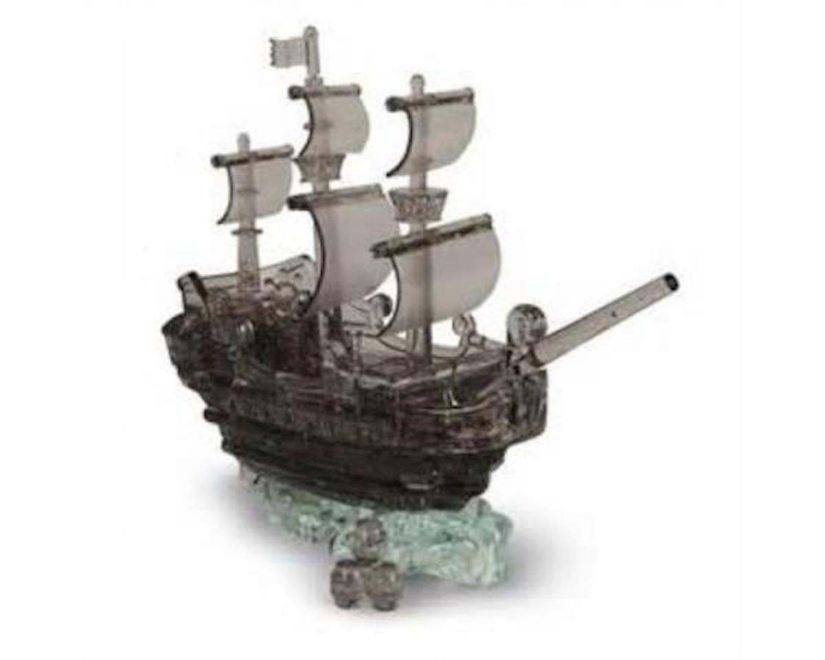 University Games Corp Games  3D Crystal Puzzle Pirate Ship - Black Puzzle