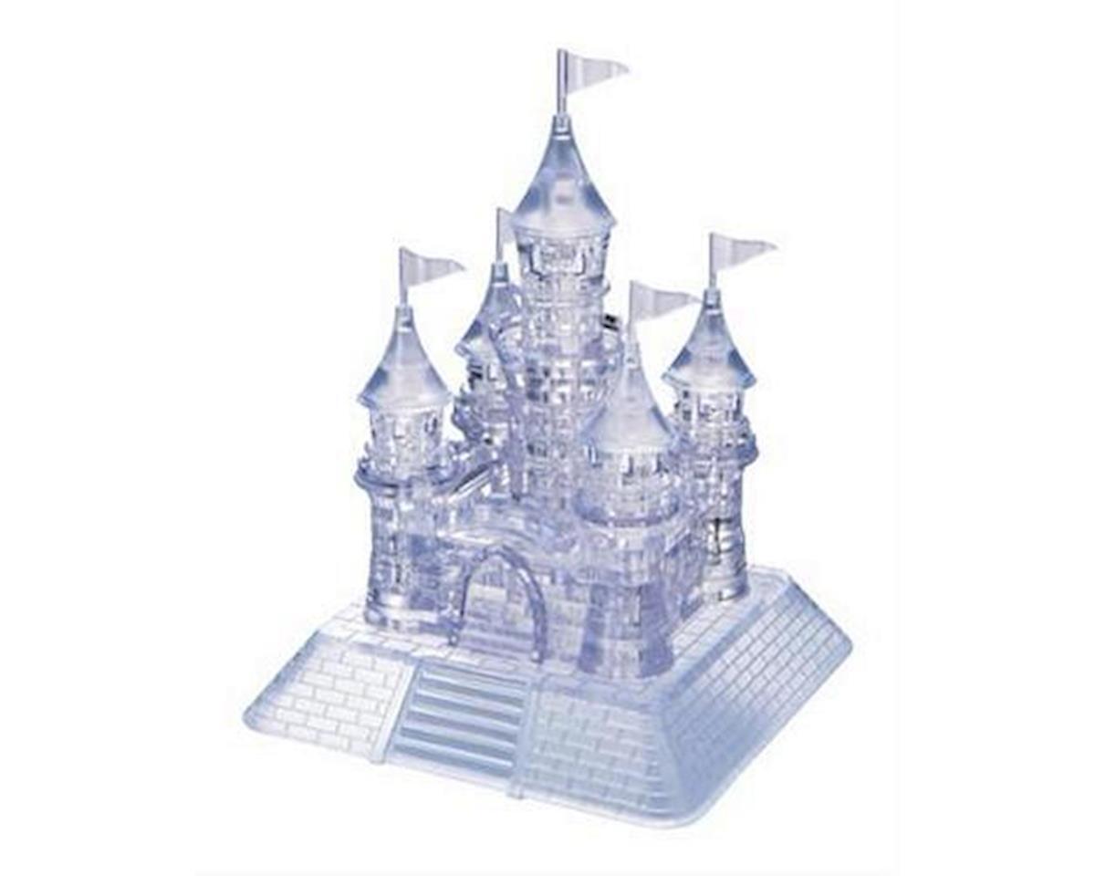 University Games Corp Bepuzzled 30961 3D Crystal Puzzle - Castle: 105 Pcs