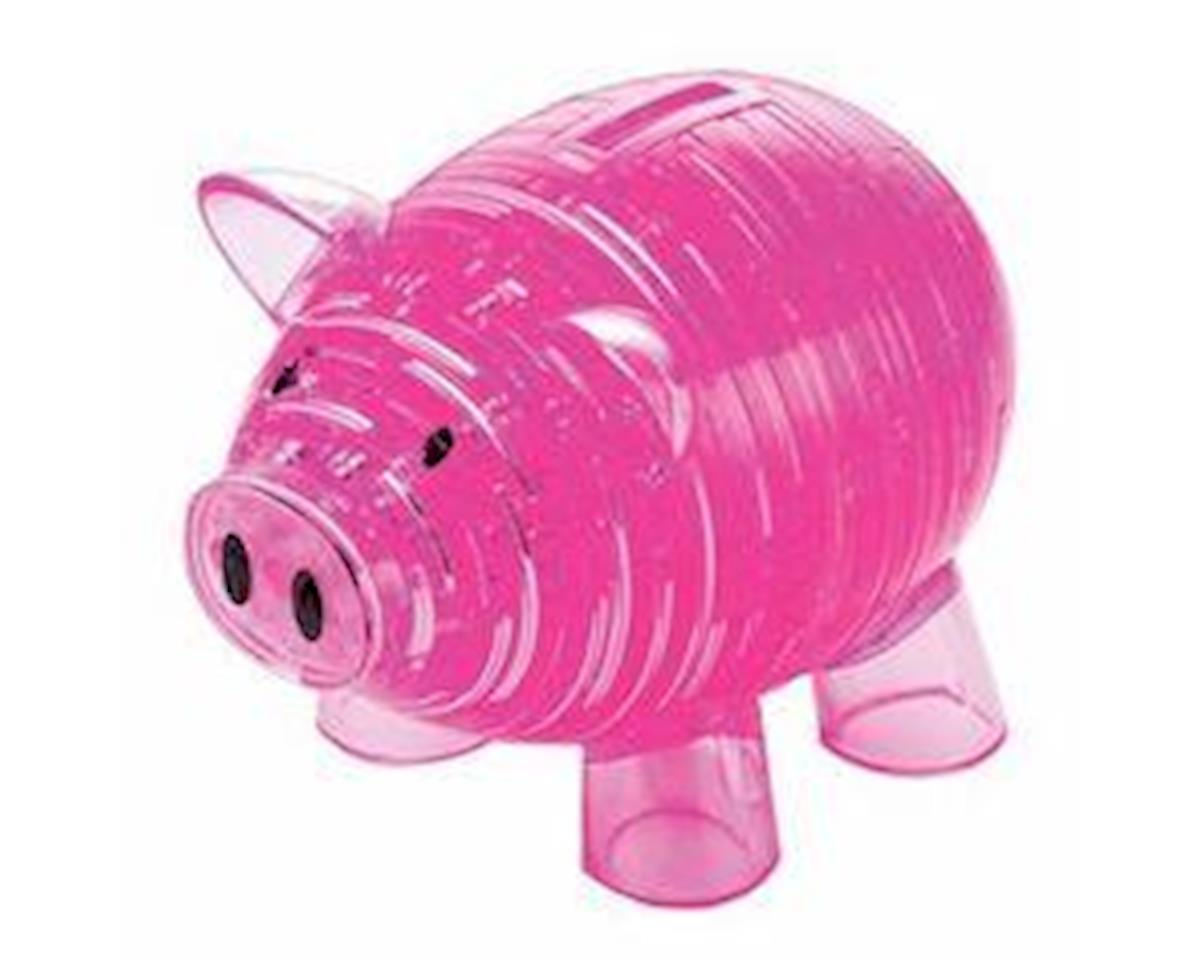 University Games Corp Bepuzzled 30967 3D Crystal Puzzle - Piggy Bank: 93 Pcs