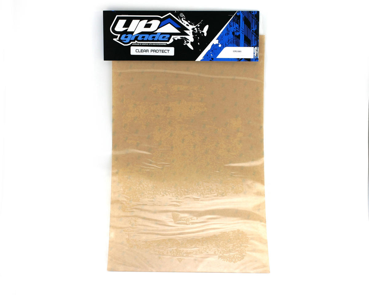 "Upgrade R/C Clear Body Protector Sheet (12"" x 20"")"