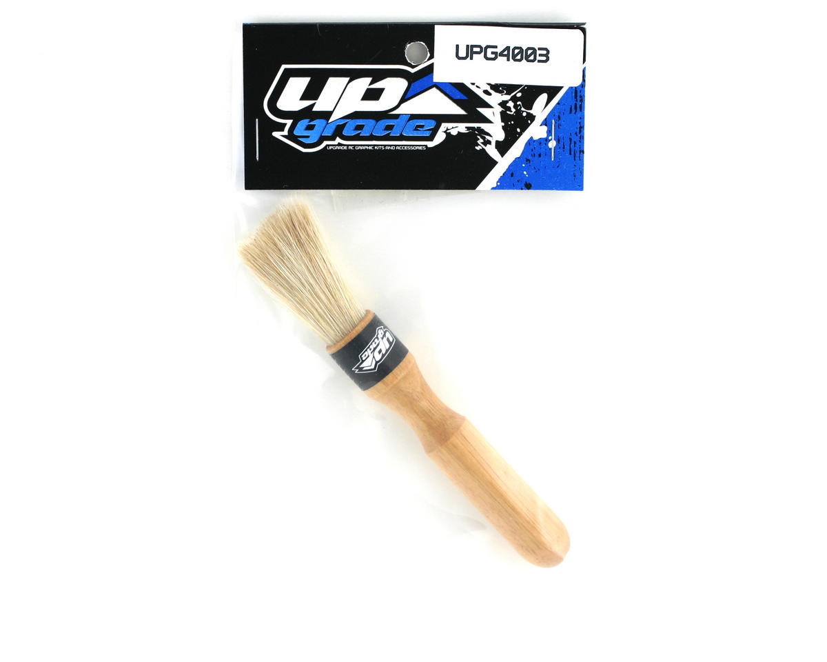 Upgrade R/C Short Round Detail Cleaning Brush (Soft Bristles)