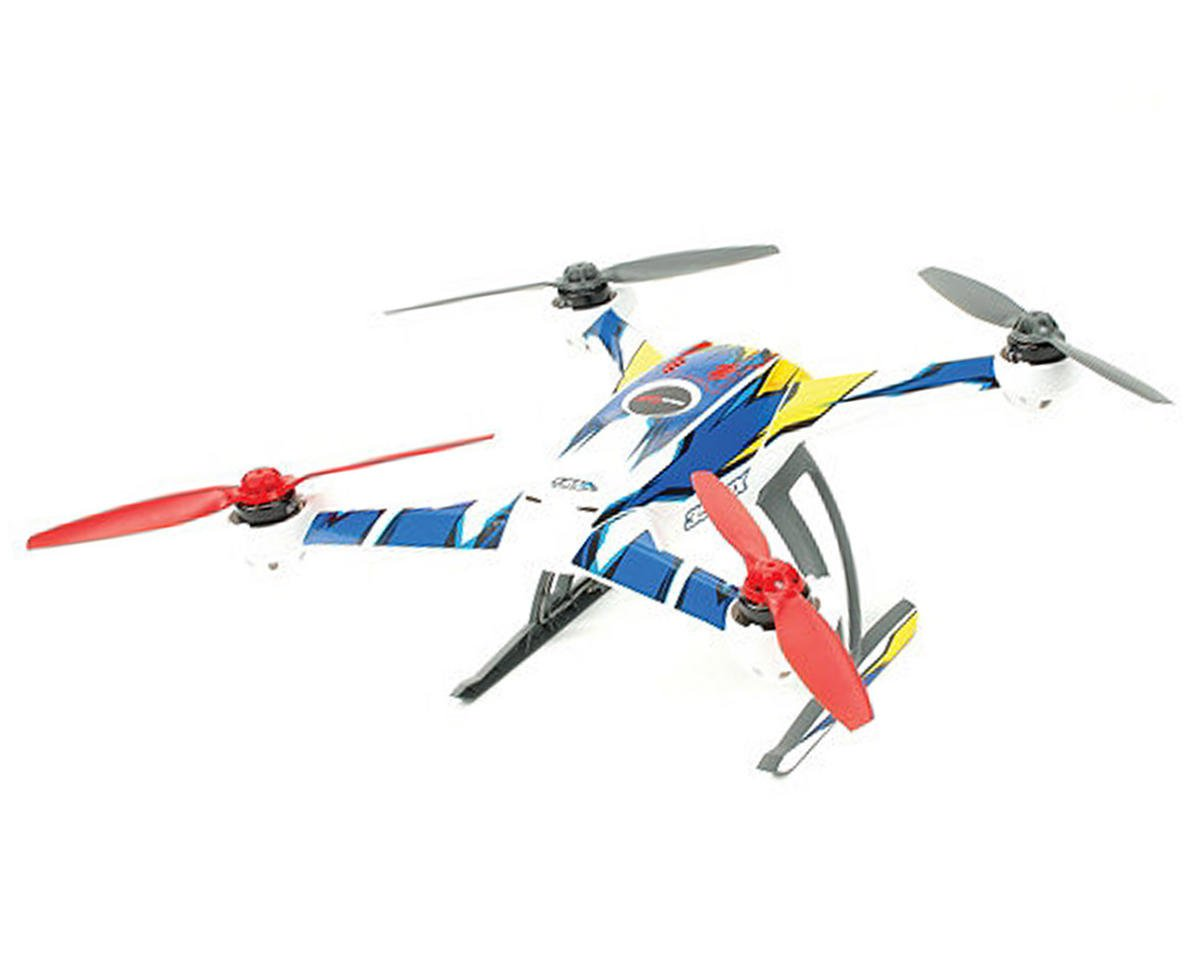 "Upgrade R/C Blade 350 QX ""Macro"" Skin (Blue/Yellow)"