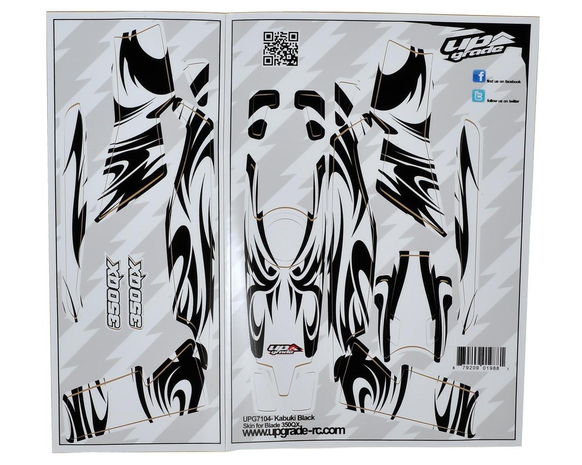 """Upgrade R/C Blade 350 QX """"Kabuki"""" Skin (Black)"""
