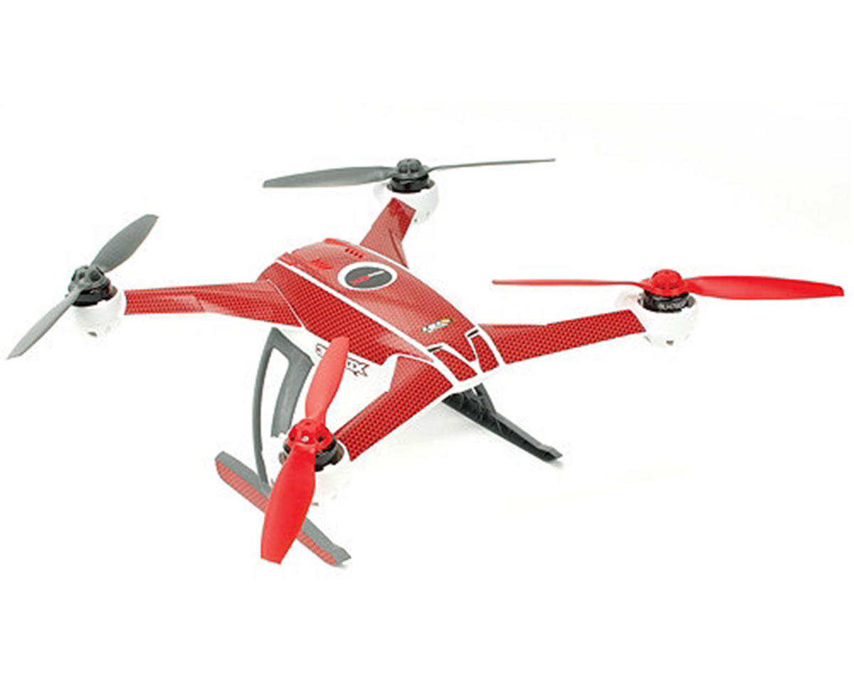 "Upgrade R/C Blade 350 QX ""Carbon"" Skin (Red)"