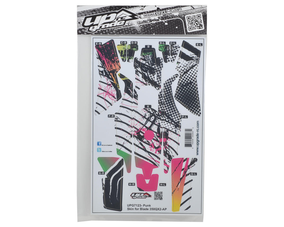 "Upgrade R/C Blade 350 QX2 AP ""Punk"" Hyper Skin"