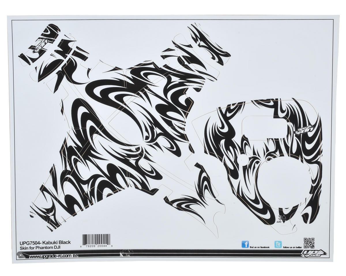 """Upgrade R/C DJI Phantom """"Kabuki"""" Skin (Black)"""