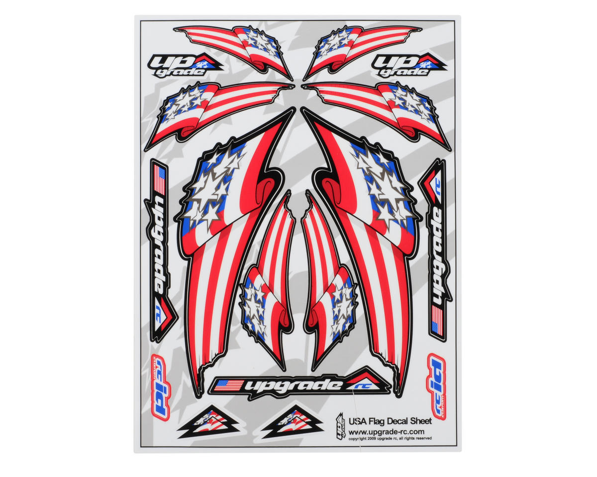 Upgrade R/C US Flag Universal Graphic Kit