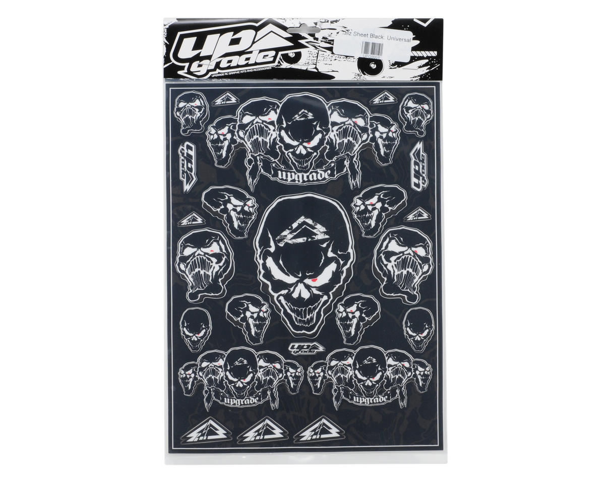 Upgrade R/C Skullz Universal Graphics Kit (Black)