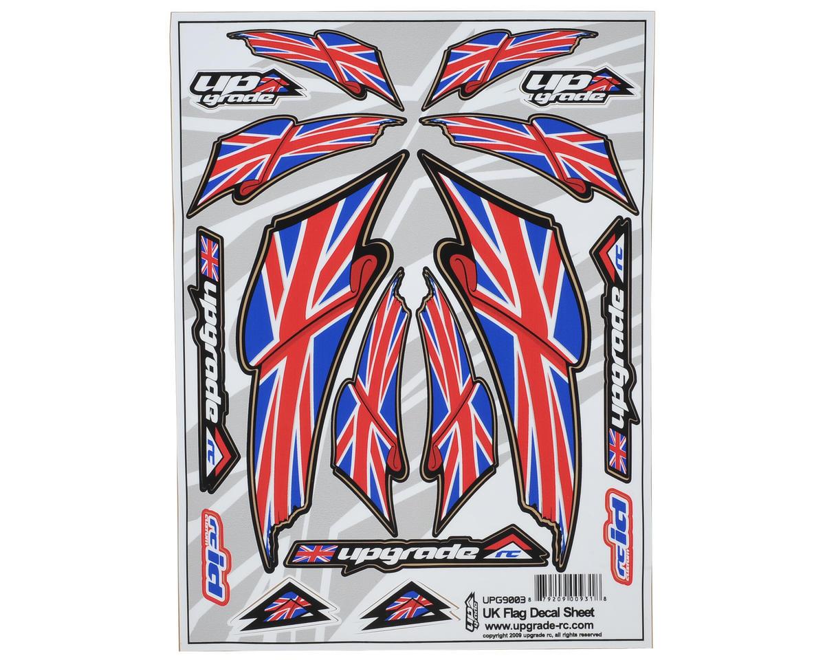 """Upgrade R/C """"UK Flag"""" Decal Sheet"""