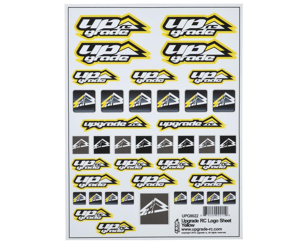 Logo Decal Sheet (Yellow)