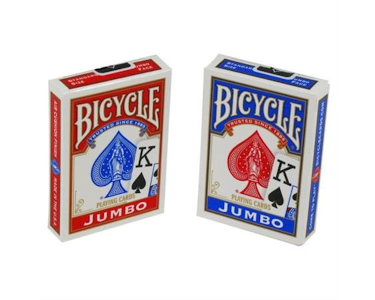 United States Playing Card Company Us Playing Cards   Bicycle Jumbo Playing Cards