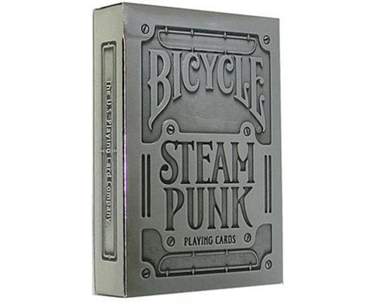 United States Playing Card Company Bicycle 1025591 Silver Steampunk Playing Cards