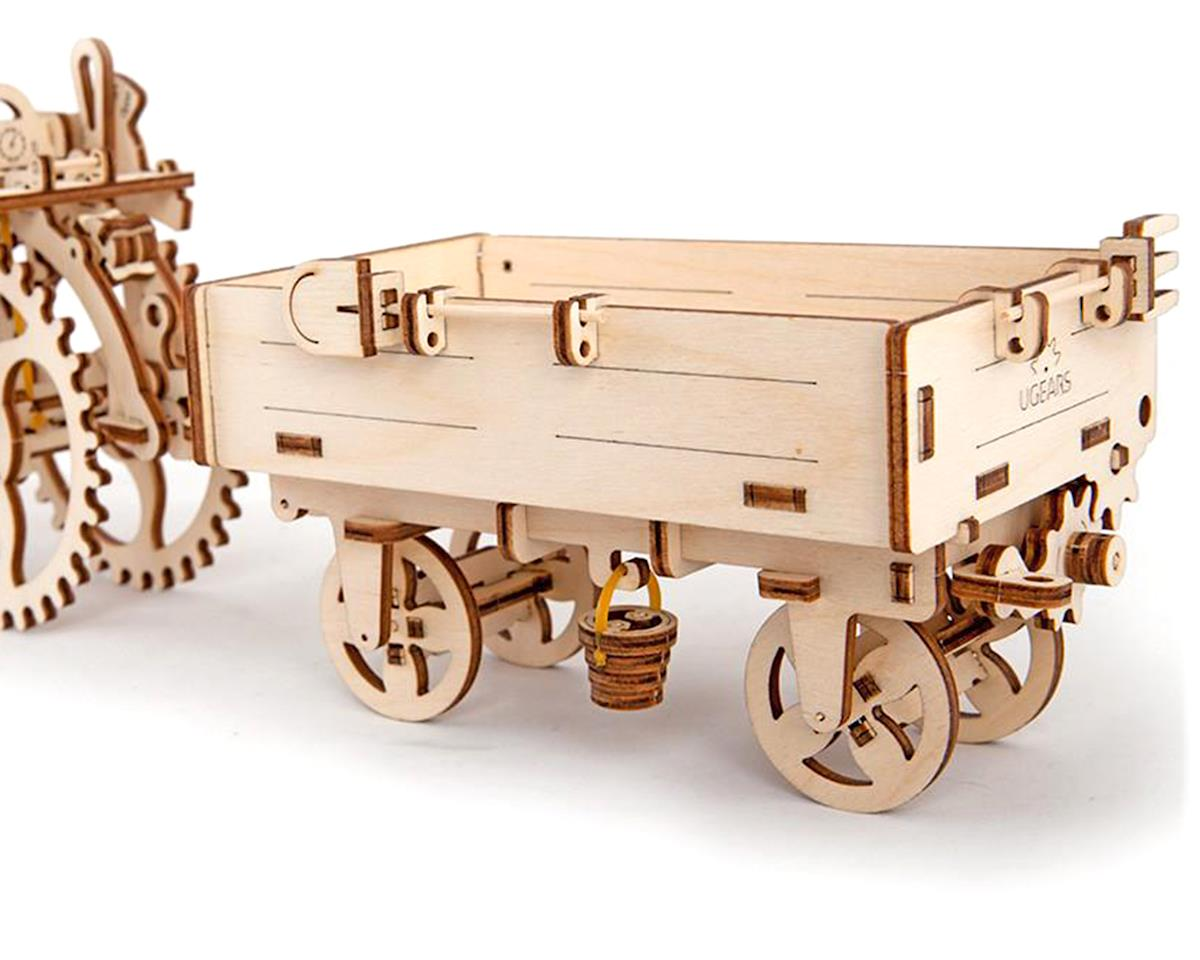 UGears Trailer Wooden 3D Model (for Tractor)