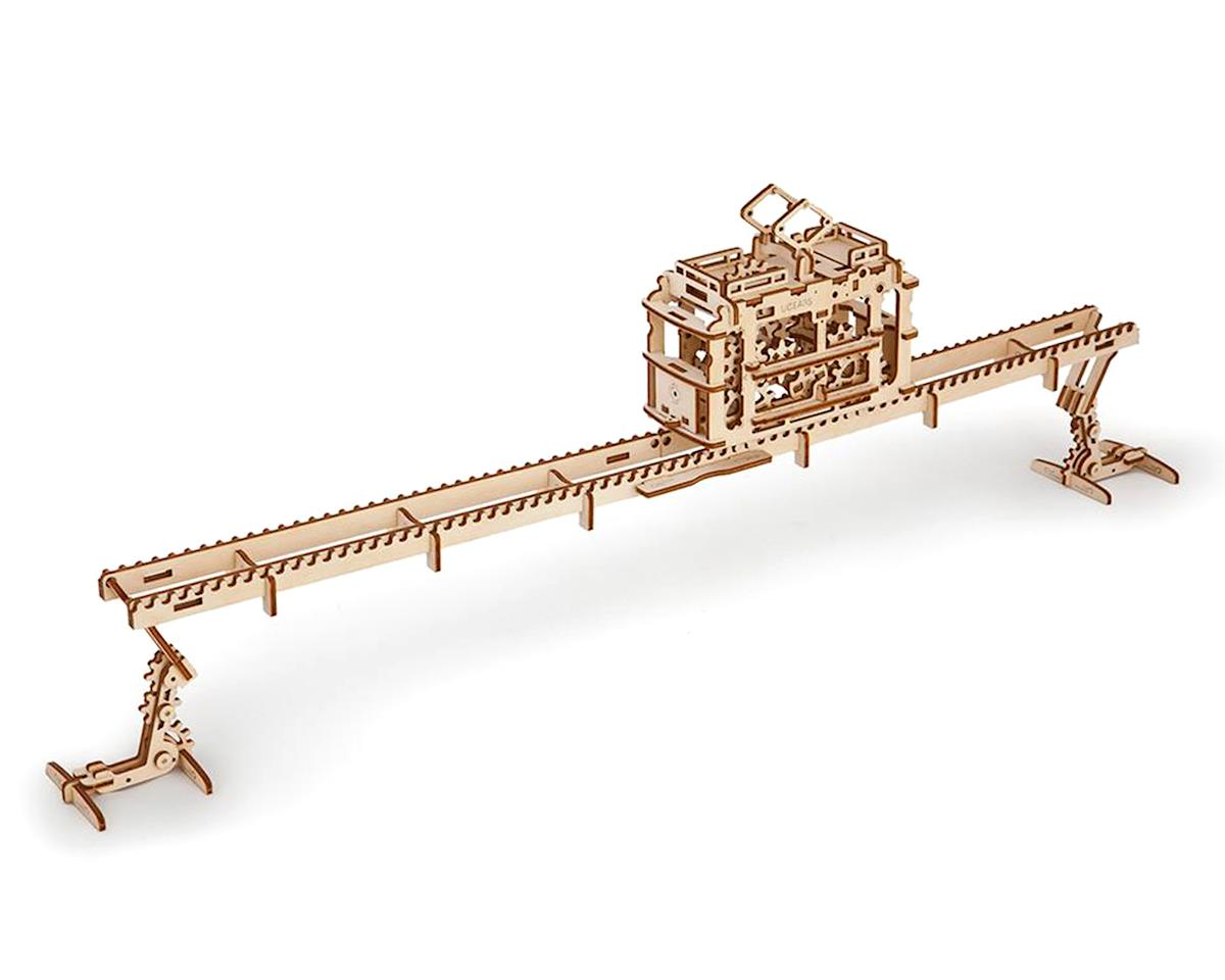 SCRATCH & DENT: UGears Tram with Rails