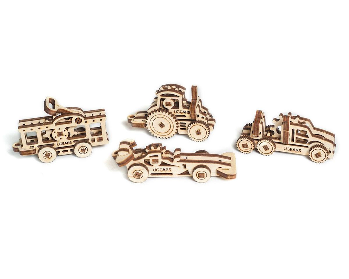UGears U-Fidget Vehicles Wooden 3D Models (4)