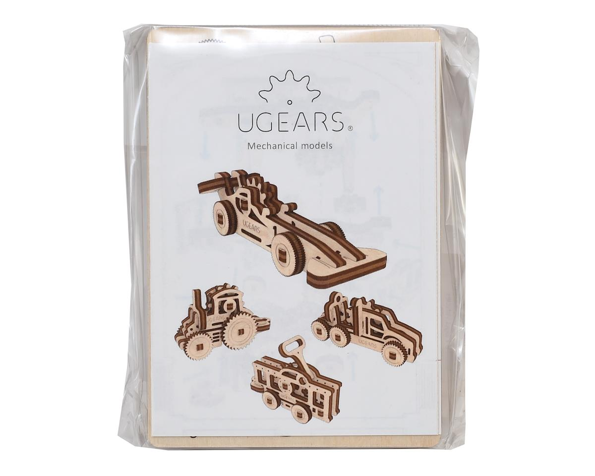 UGears U-Fidget Vehicles Wooden 3D Models (4)