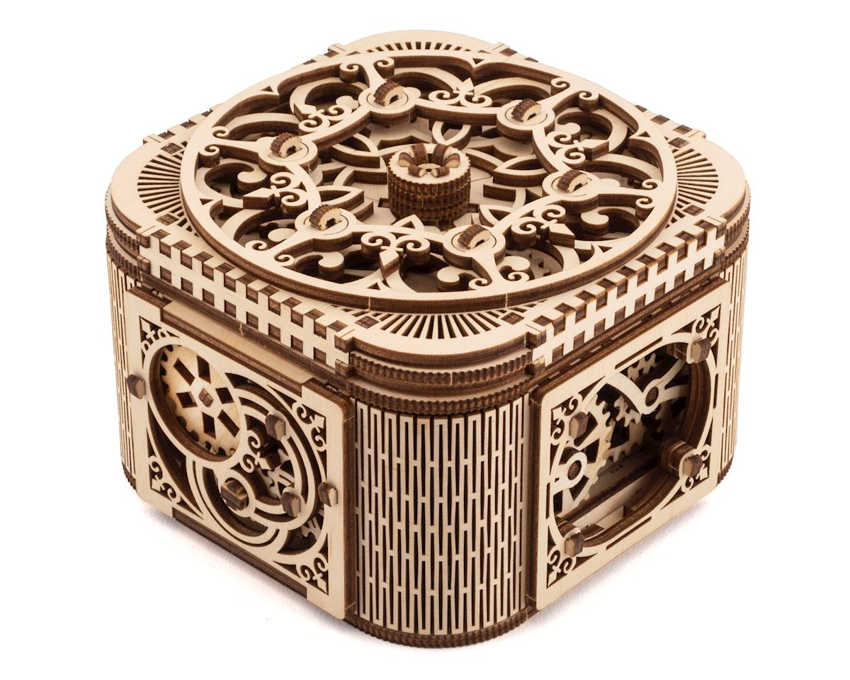 UGears Treasure Box Wooden 3D Model