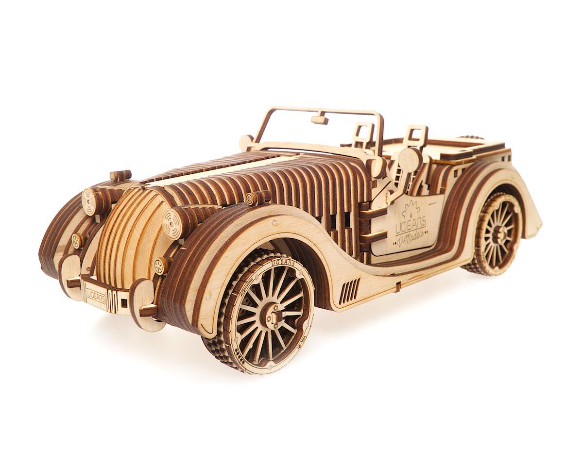 Roadster VM-01 Wooden 3D Car Model