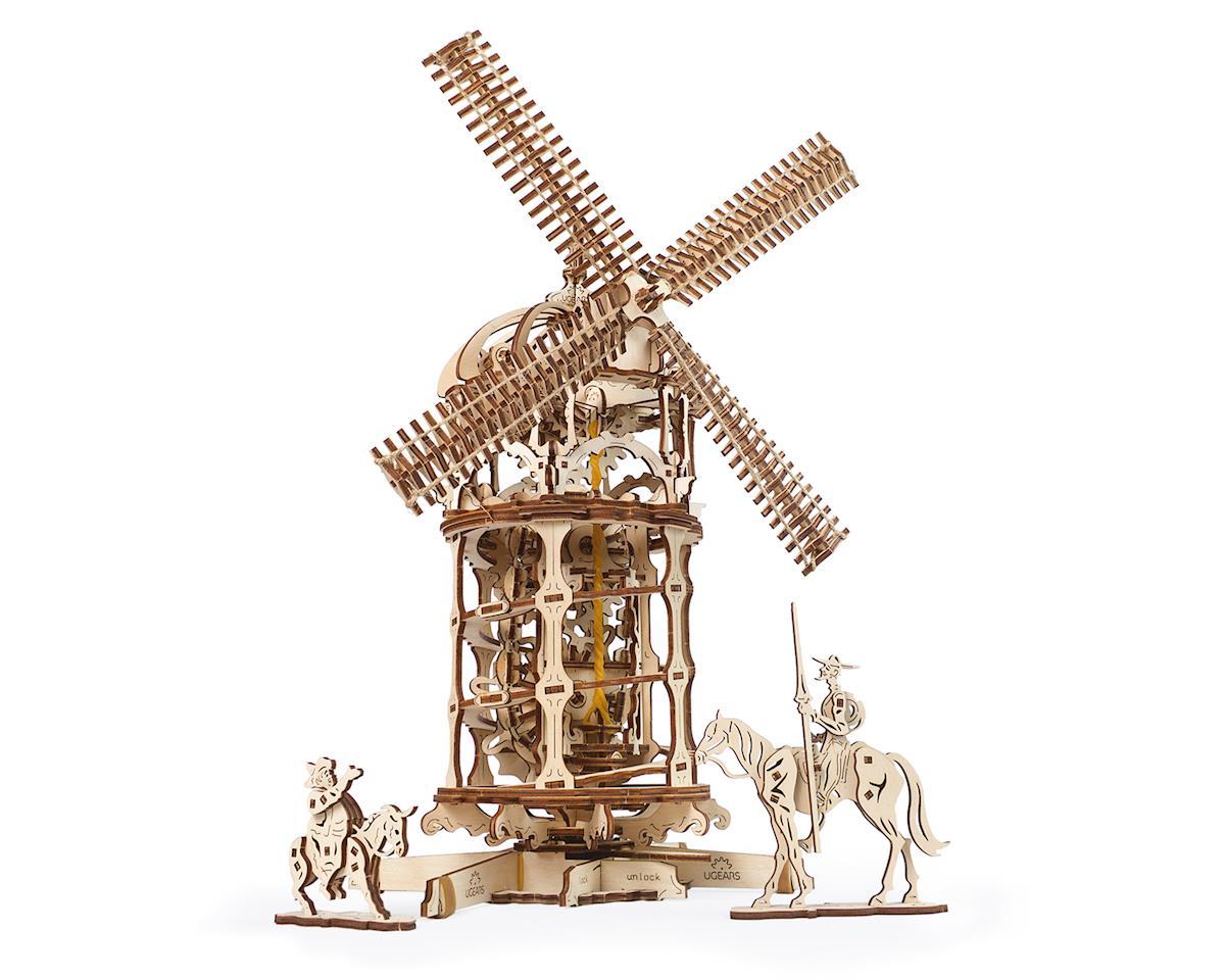 UGears Tower Windmill Wooden 3D Model [UTG0046]   Toys & Hobbies