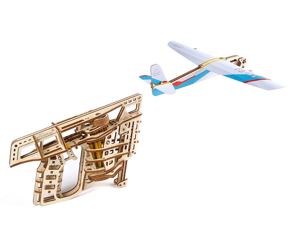 UGears Flight Starter Wooden 3D Model Kit