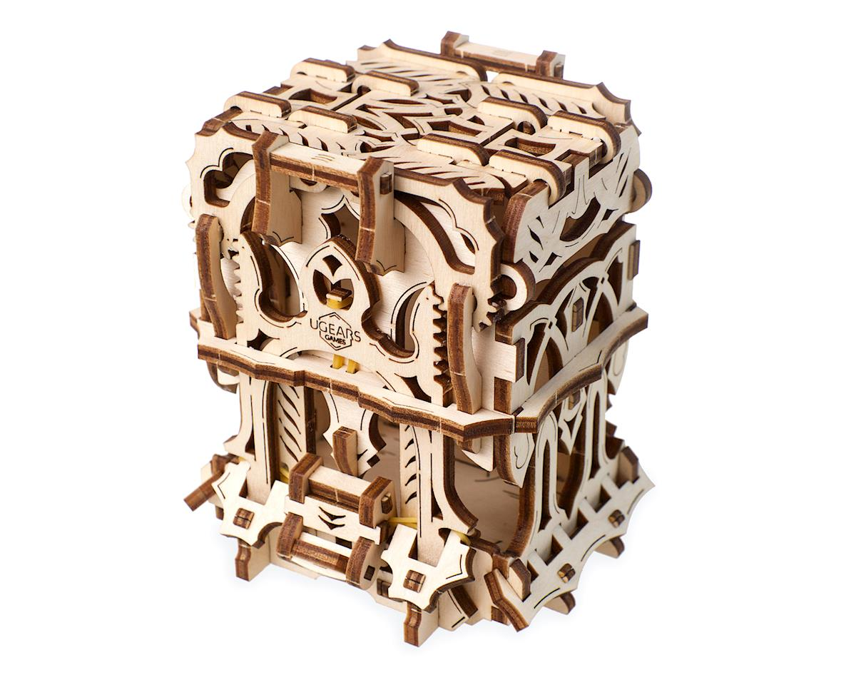 UGears Deck Box Wooden 3D Model Kit