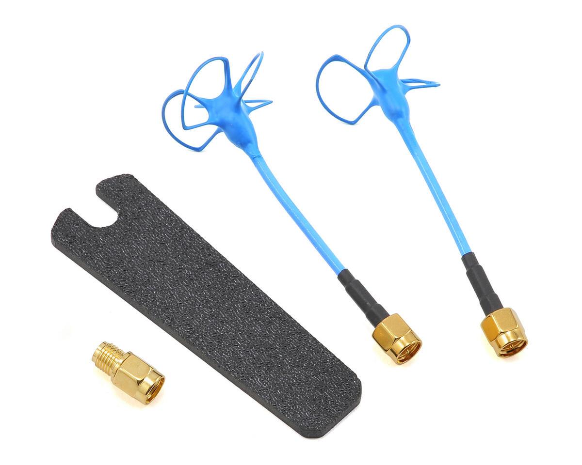 Video Aerial Systems VAS 5.8Ghz Blue Beam Whip Antenna (Straight SMA) (RHCP) (2)