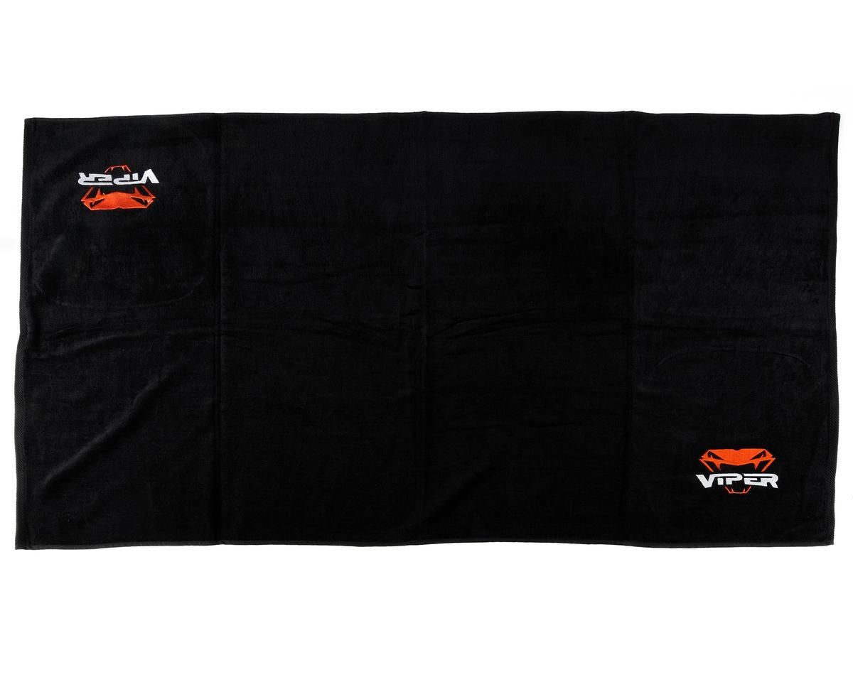 Viper R/C Team Viper Pit Towel (Black) (152x76cm)