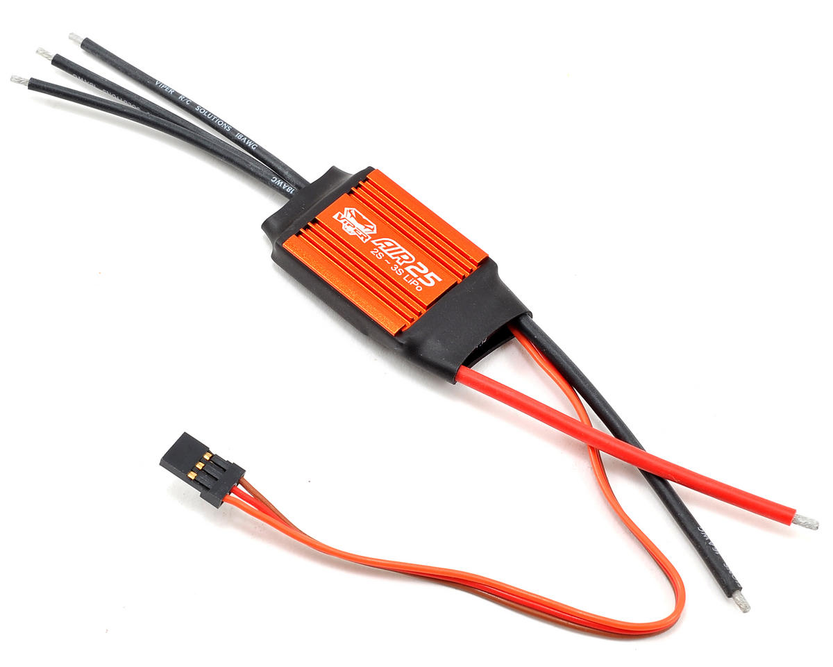 AIR25 25 Amp 2/3-Cell Airplane ESC w/Linear BEC