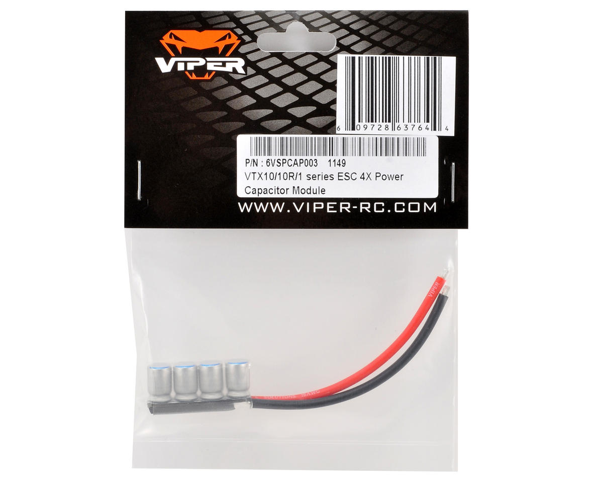 Viper R/C VTX 4X Power Capacitor Module