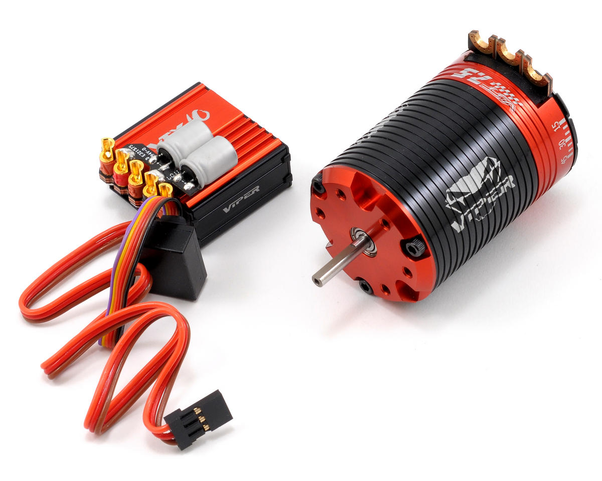 Viper R/C VTX10 ESC & VST7.5 Brushless Motor Combo w/EZ Link (7.5T)