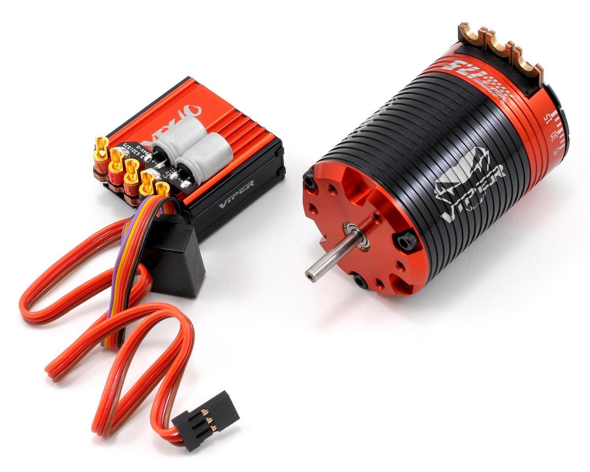 Viper R/C VTX10 ESC & VST17.5 Brushless Motor Combo w/EZ Link (17.5T)