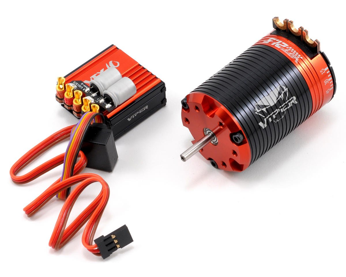 Viper R/C VTX10 ESC & VST21.5 Brushless Motor Combo w/EZ Link (21.5T)