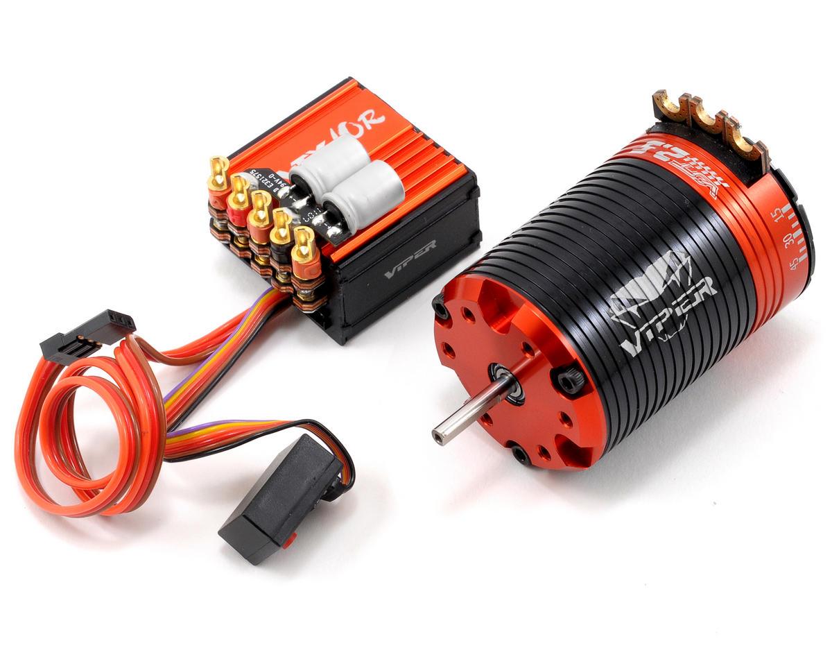 Viper R/C VTX10R ESC & VST2.5 Brushless Motor Combo w/ProGauge (2.5T)