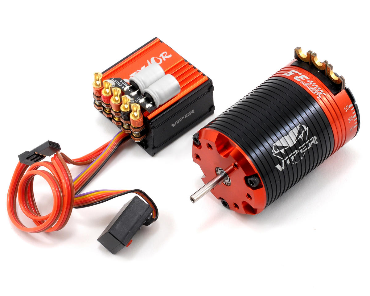 Viper R/C VTX10R ESC & VST3.5 Brushless Motor Combo w/EZ Link (3.5T)
