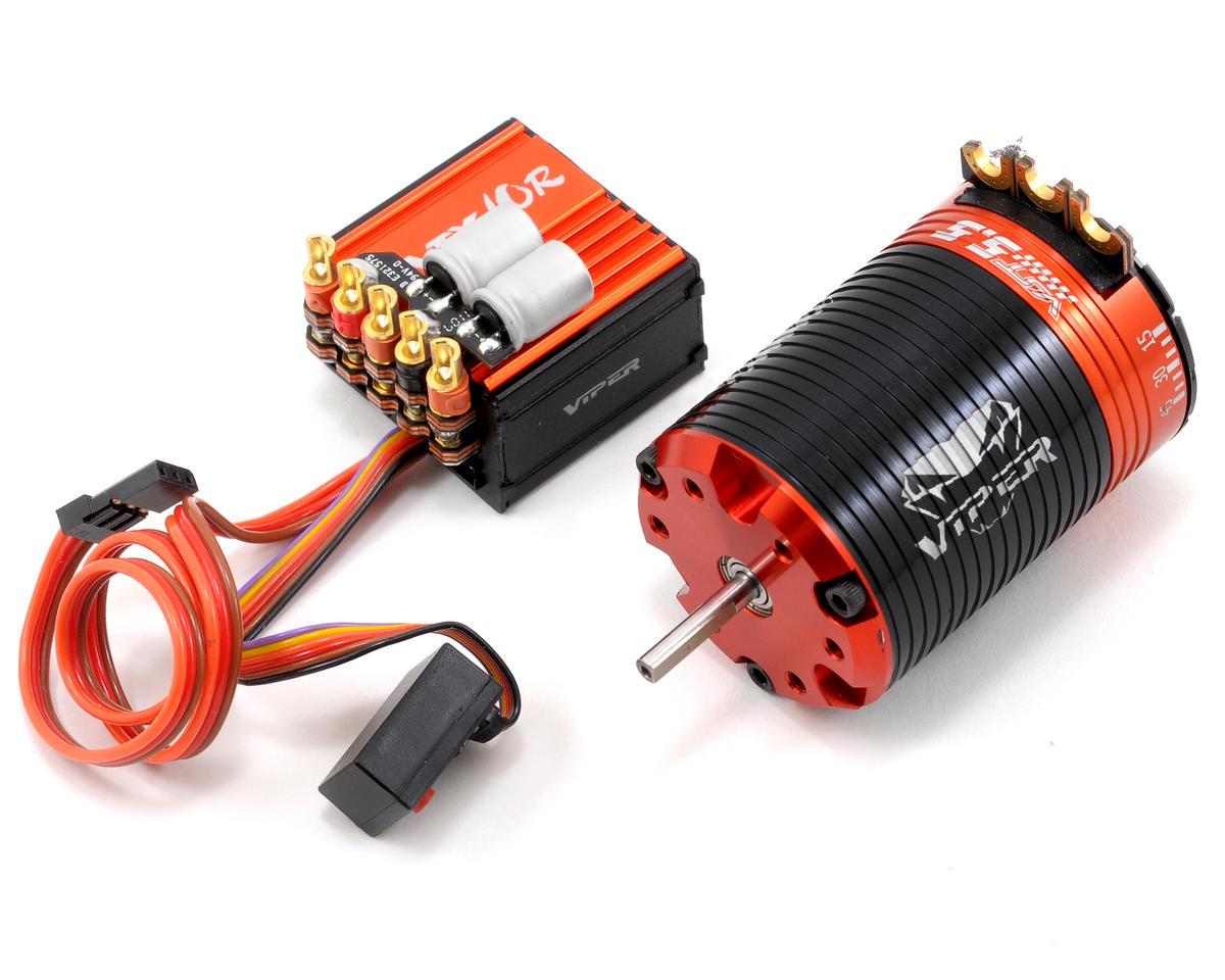 Viper R/C VTX10R ESC & VST5.5 Brushless Motor Combo w/EZ Link (5.5T)