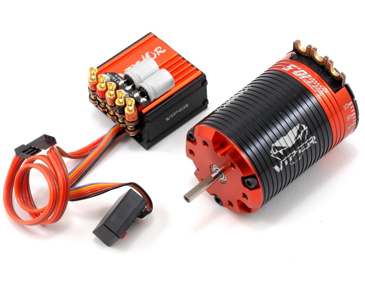 Viper R/C VTX10R ESC & VST10.5 Brushless Motor Combo w/EZ Link (10.5T)