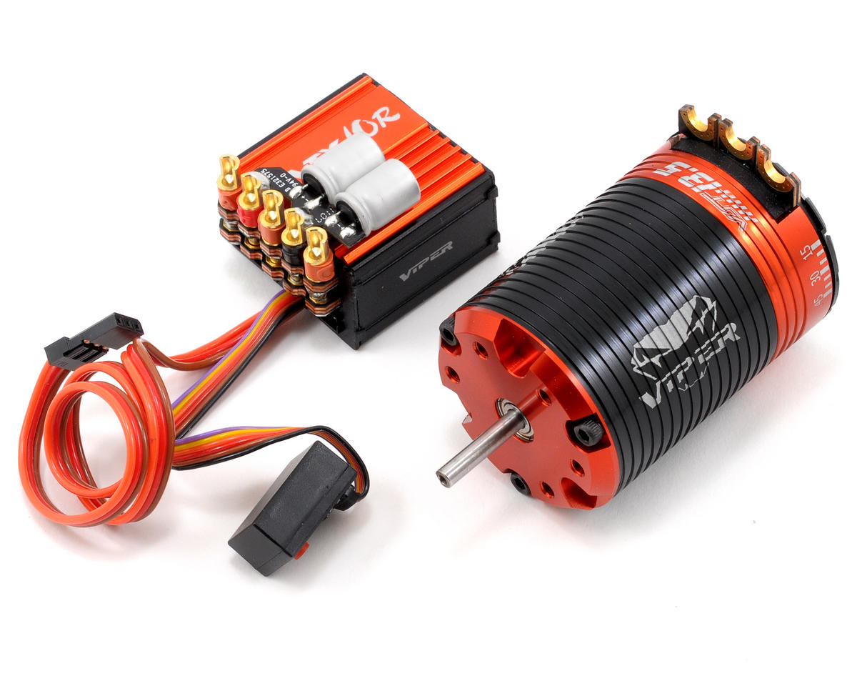 Viper R/C VTX10R ESC & VST13.5 Brushless Motor Combo w/EZ Link (13.5T)