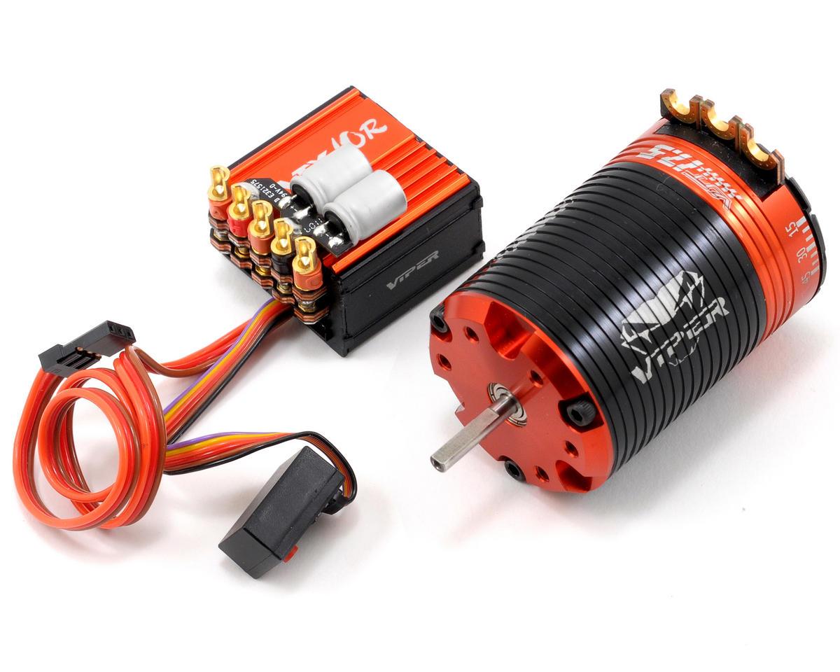 Viper R C Vtx10r Esc Vst17 5 Brushless Motor Combo W Ez