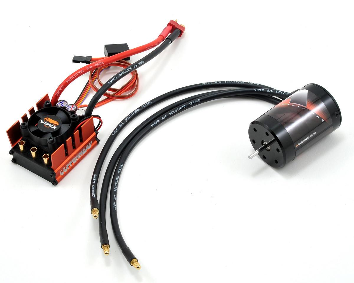 Viper R/C Copperhead ESC & VX4.39 4-Pole 540 Sensorless Brushless Motor Combo (3900kV)