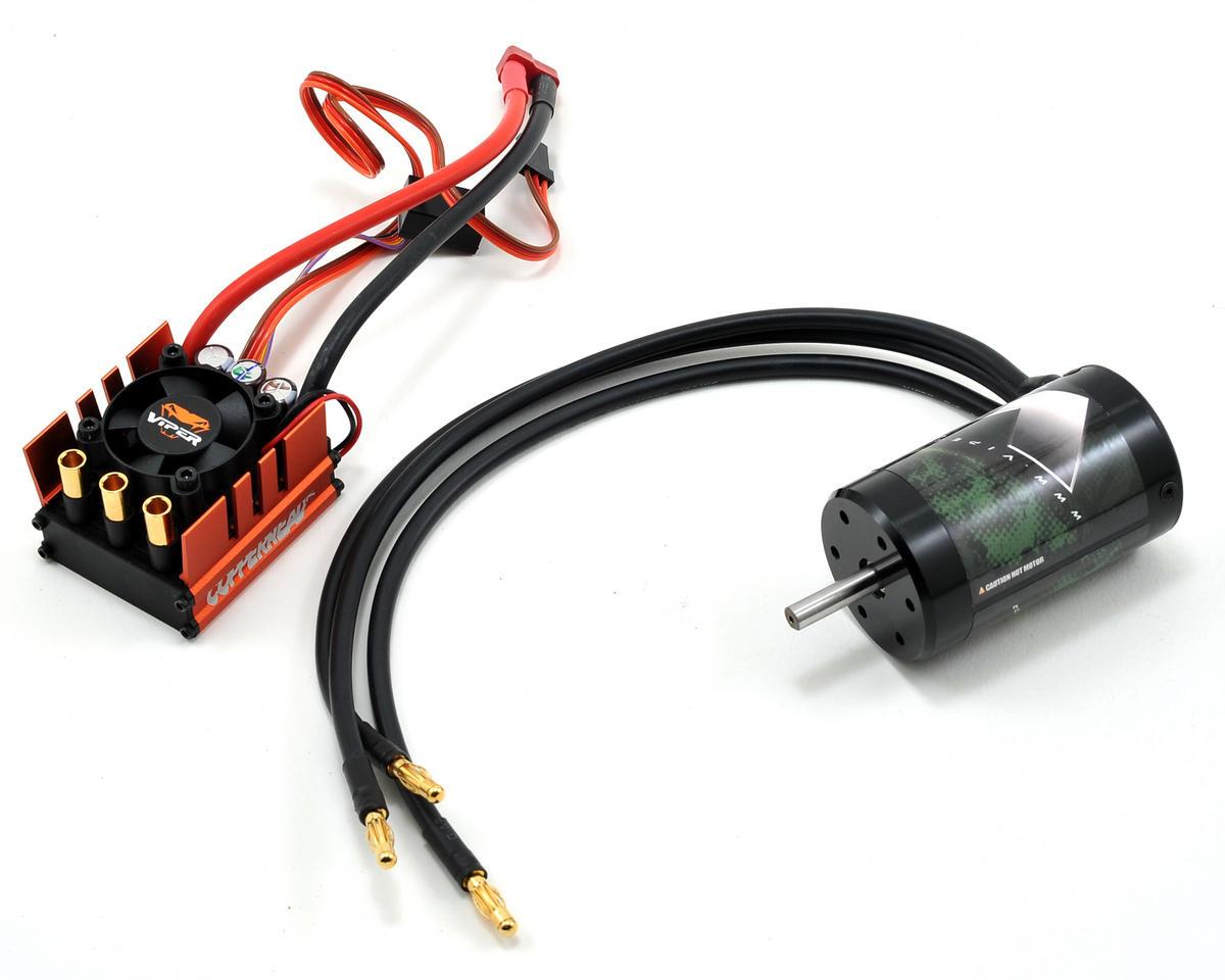 Viper R/C Copperhead-R ESC & VX4R.45 4-Pole 550 Sensorless Brushless Motor Combo (4500kV)