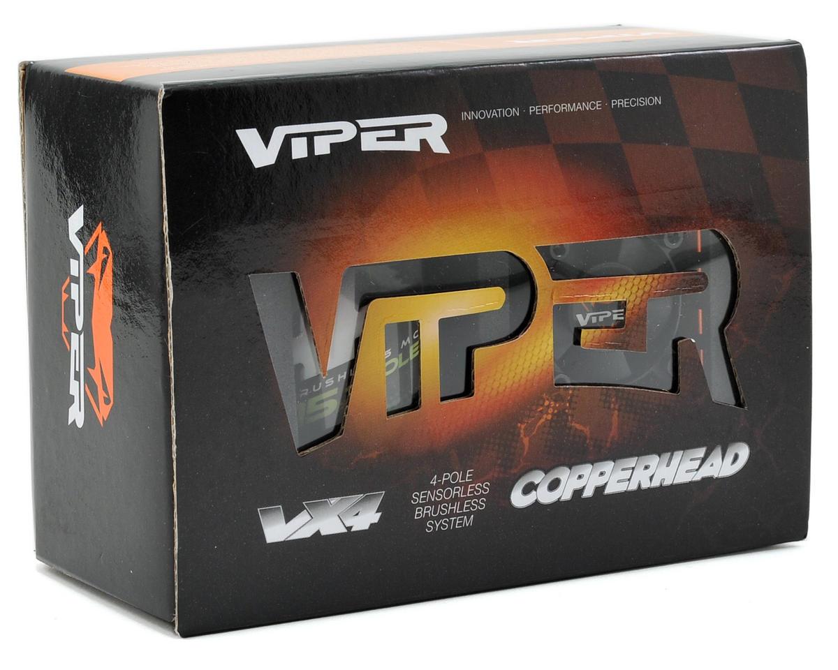Viper R/C Copperhead-R ESC & VX4R.51 4-Pole 550 Sensorless Brushless Motor Combo (5150kV)
