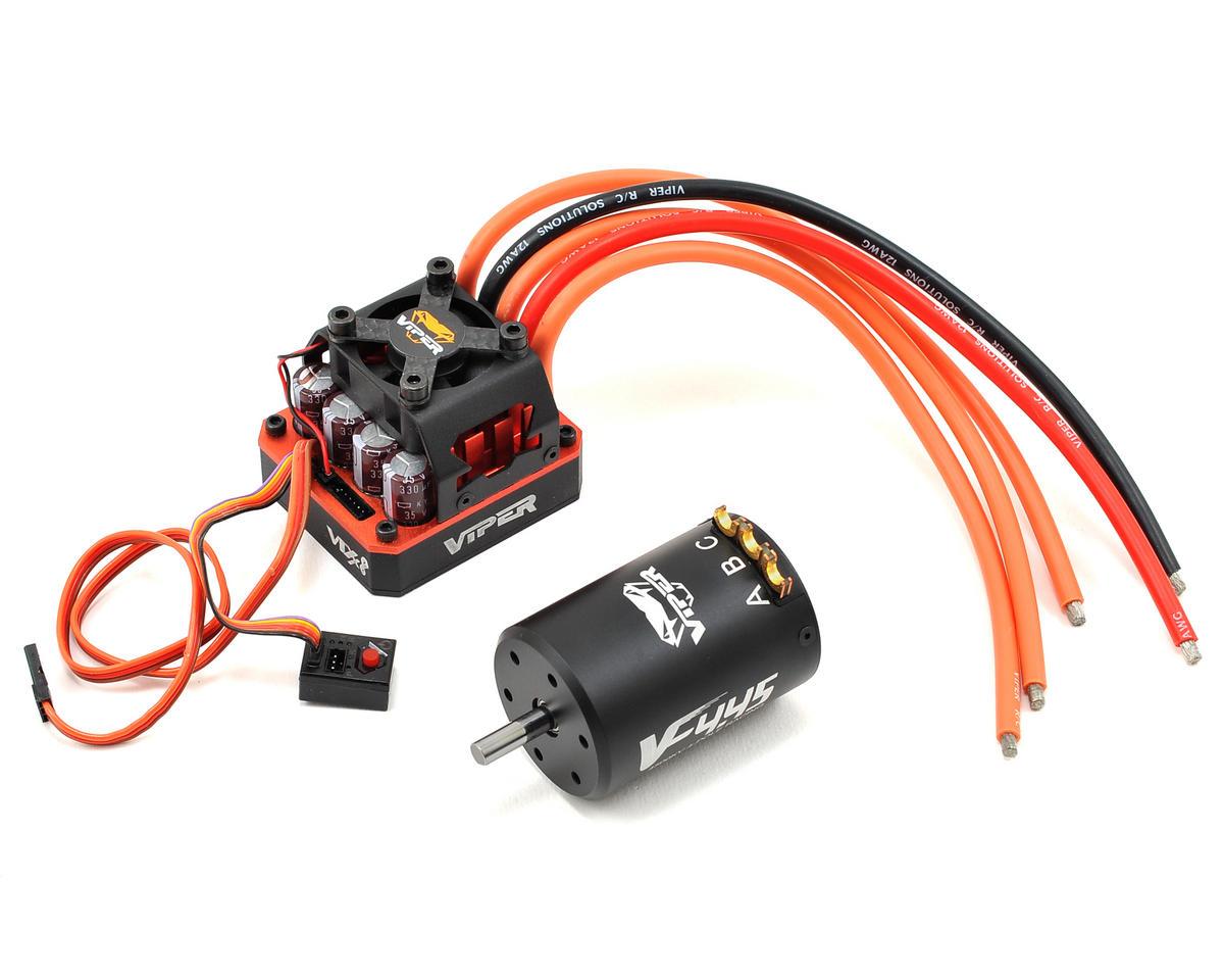 Viper R/C 1/8 VTX8 Sensored Brushless ESC/VF4.45 Motor Combo w/EZ Link (4500kV)