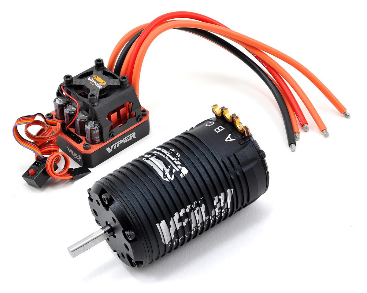 Viper R/C 1/8th Scale VTX8 Sensored Brushless ESC/VF8.21 Competition 4-Pole Motor & EZ Link