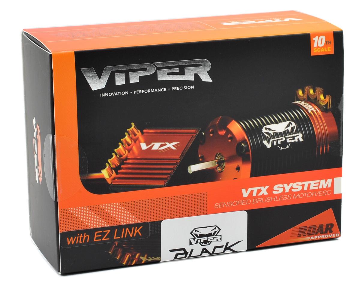 """Viper R/C VTX10-BE """"Black Edition"""" ESC & VST8.5 Brushless Motor Combo w/EZ Link (8.5T)"""