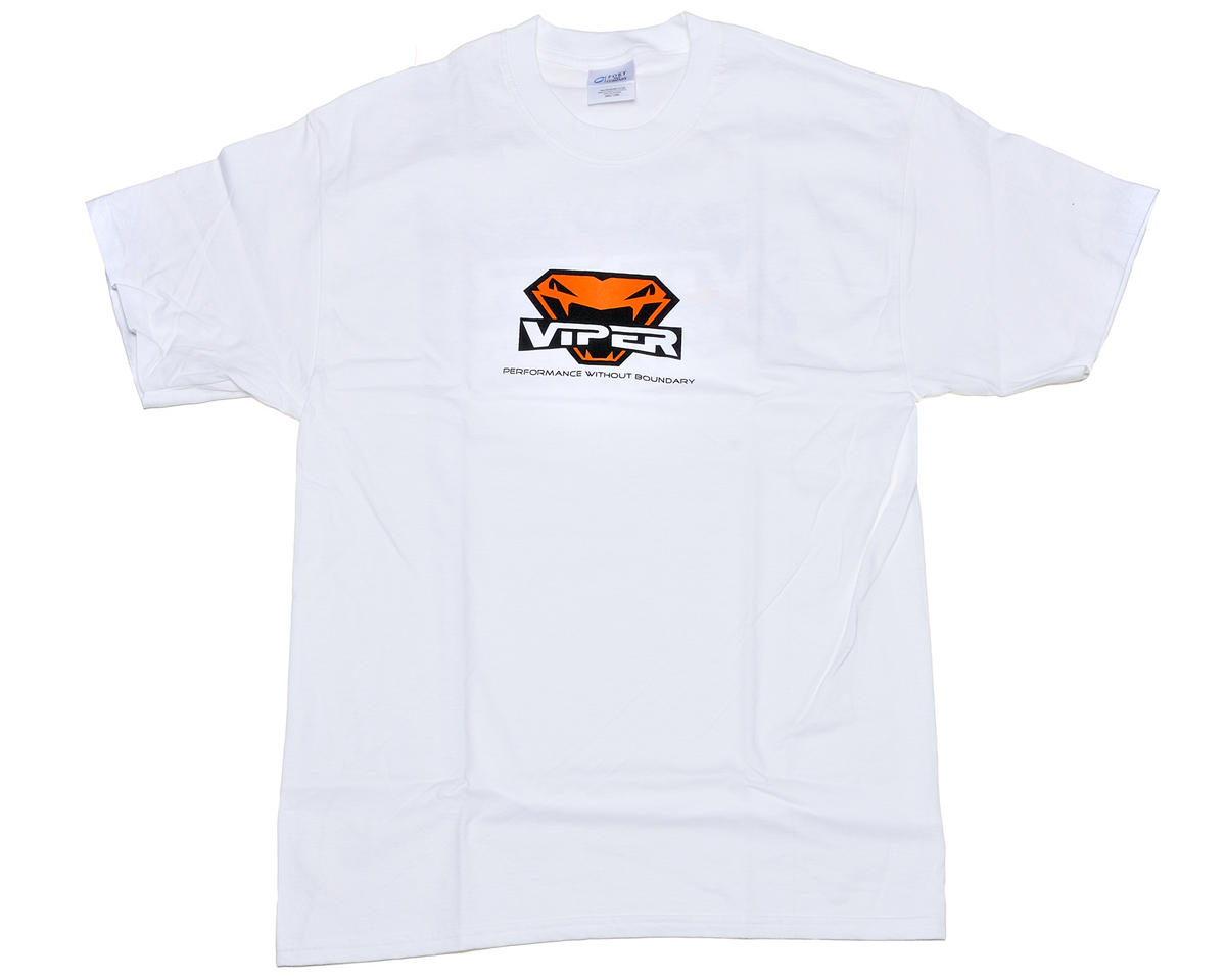 Viper R/C Team Viper White T-Shirt (Large)