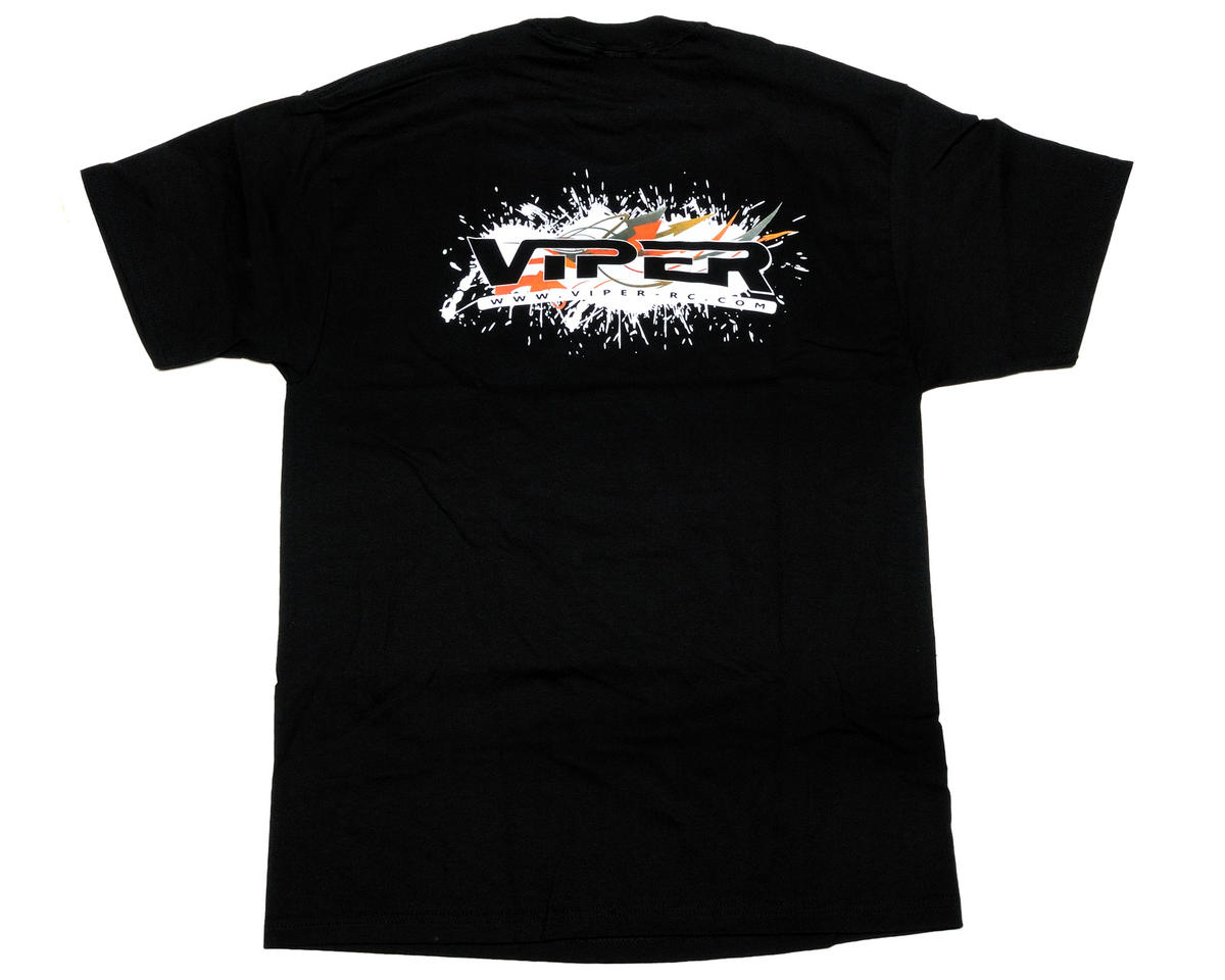 Viper R/C Black Team Viper T-Shirt (Large)
