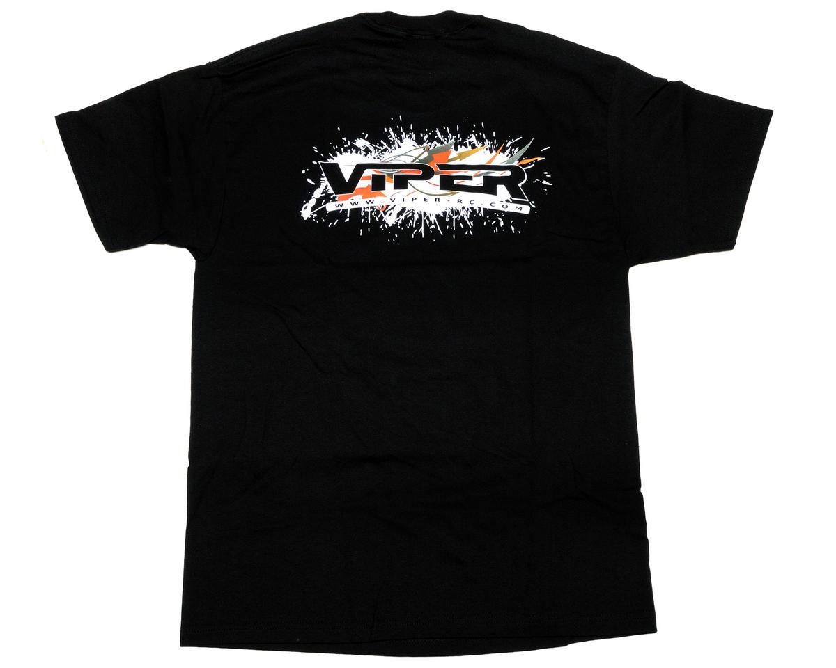Viper R/C Black Team Viper T-Shirt (3X-Large)