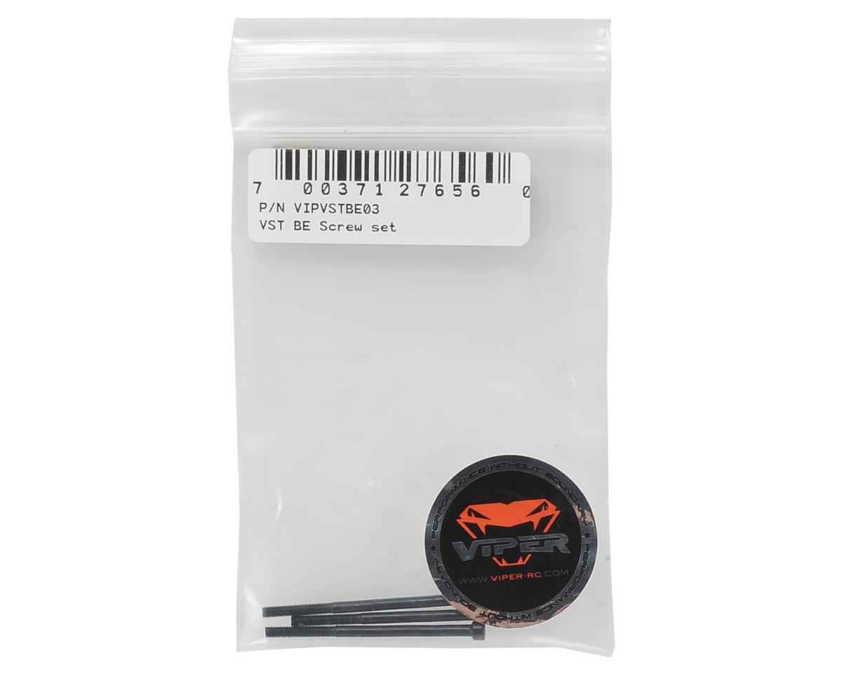"Viper R/C VST ""Black Edition"" Screw Set"