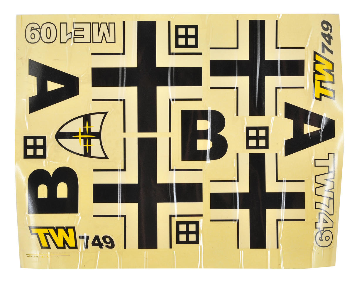 Volantex R/C BF-109 Decal Set